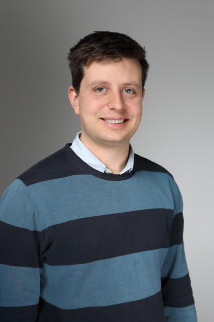 Porträt eines Mitarbeiters
