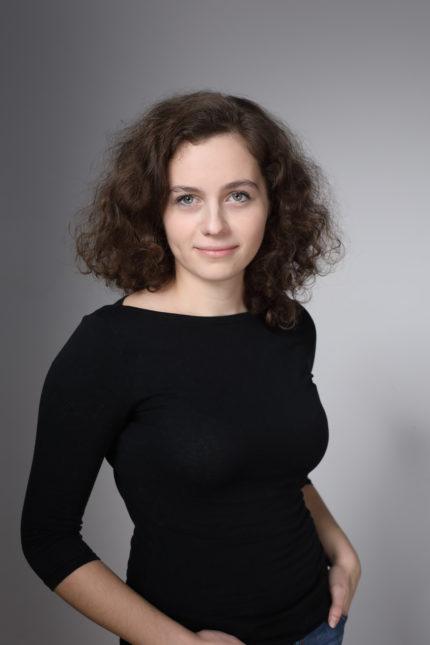 Porträt einer Mitarbeiterin