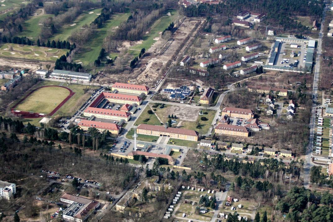 Luftaufnahme der General-Steinhoff-Kaserne