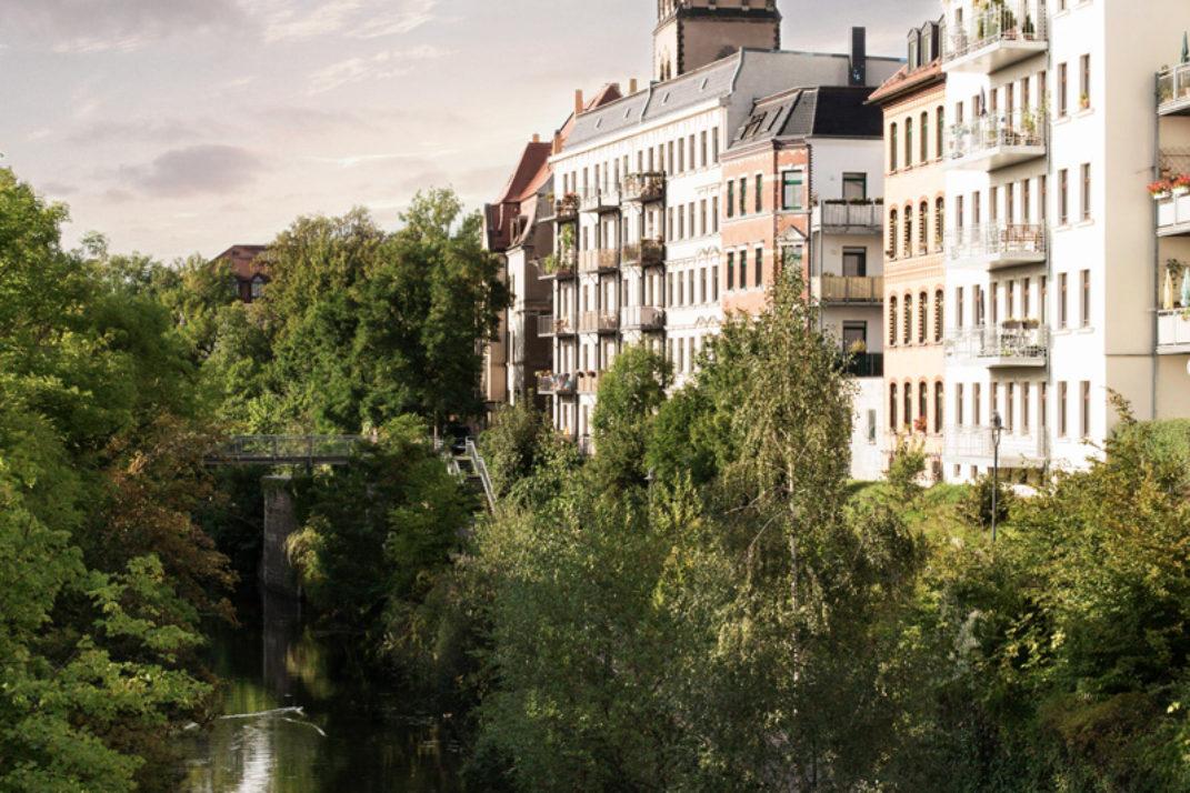 Foto des Leipziger Stadtteils Plagwitz